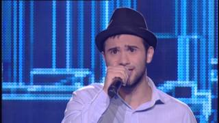 Νίκος Μπαλιάκος - James Arthur - Impossible | The Voice of Greece - The Blind Auditions (S01E06)