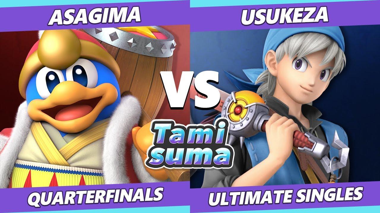 VGBootCamp - TAMISUMA 219 Quarterfinals - Asagima (Dedede, Brawler) Vs. Usukeza (Hero) SSBU Smash Ultimate