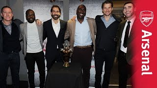 Arsenal legends attend 'Invincibles' premiere