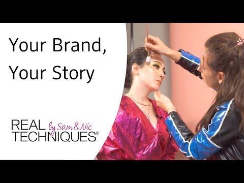 REAL TECHNIQUES - Your Brand, Your Story