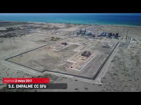 Avance del proyecto de las Líneas de Transmisión y Subestaciones de Empalme, en México