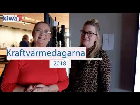Höjdpunkter från Kraftvärmedagarna 2018