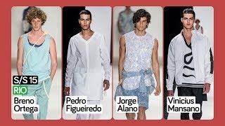 S/S 15 | Rio | Breno Ortega | Pedro Figueiredo | Jorge Alano | Vinicius Mansano