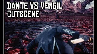 Dante vs Vergil Cutscene (Secret Ending) - Devil May Cry 5
