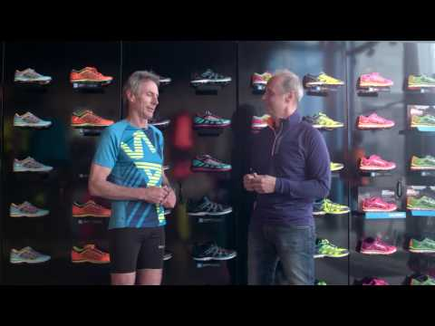 Mark Allen about Salming Running shoes