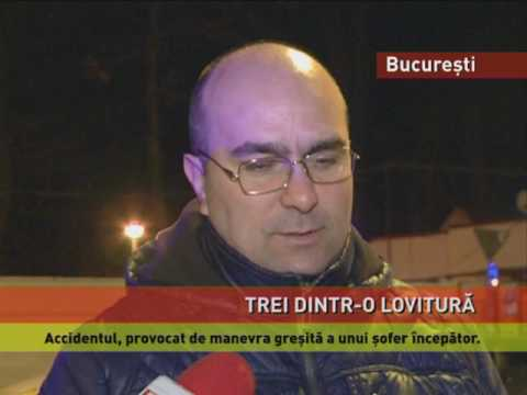 Accidente grave în Capitală