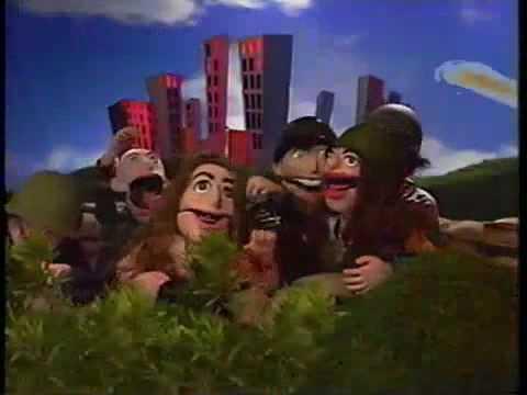 The Bear Song de Green Jelly Letra y Video