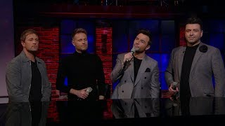 Westlife: Flying Without Wings | The Late Late Show | RTÉ One