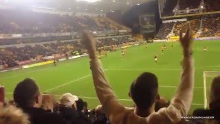 Wolves fans Jack Hayward's Barmy Army - Vs Forest (11/12/15)