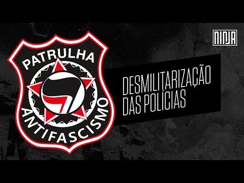 Patrulha Antifascismo | Desmilitarização das polícias por policiais #AoVivo