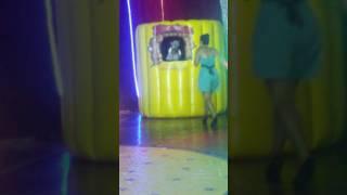 Milene pavoro no circo ceres