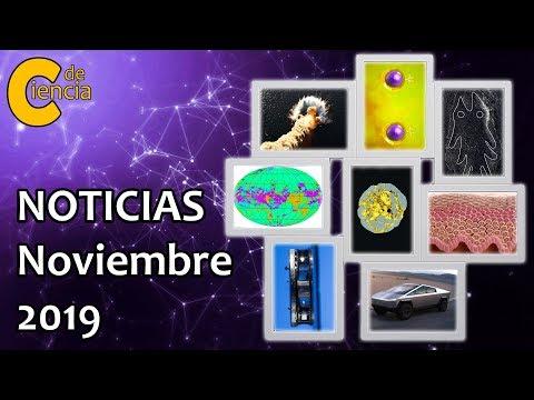 Noticias científicas noviembre 2019
