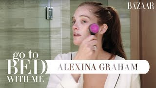 Victoria's Secret Model Alexina Graham's Nighttime Skincare Routine | Go To Bed With Me
