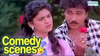 Kannada Comedy  Scenes - Premaloka - Ravichandran, Juhi chawla width=
