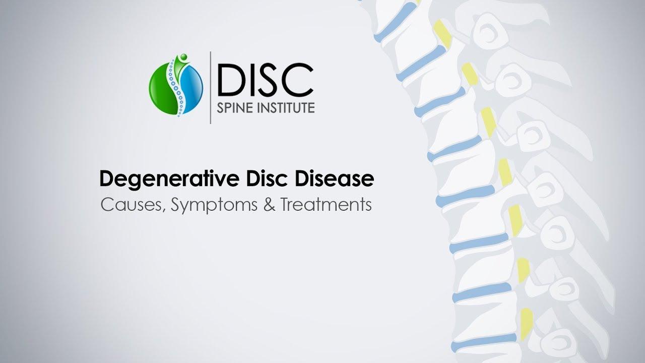 What is degenerative disc