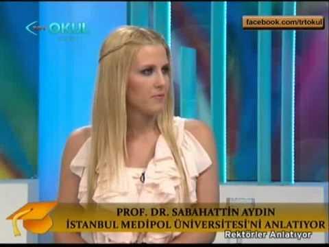 Medipol Üniversitesi Rektörü Prof.Dr. Sabahattin AYDIN TRT OKUL Programında