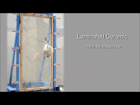 Filmed Wire, Filmed Ceramic and Laminated Ceramic Impact Test