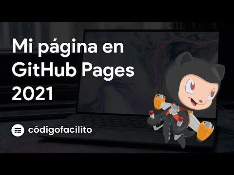 Tutorial Hosting Gratuito en GitHub 2021
