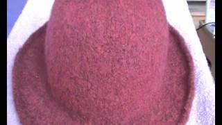Der Gestrickte Filzhut Knitted Felthat Youtube