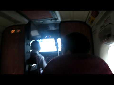 dornier 228 (thanks cap) Lukla mountain airport nepal (inside view)