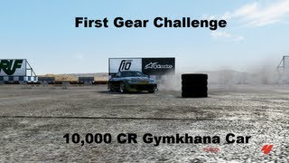 First Gear Challenge 10,000 CR Gymkhana Car (Forza motorsport 4)