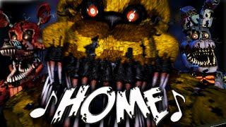NateWantsToBattle: Home [FNaF LYRIC VIDEO] FNaF Song