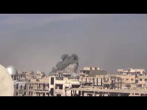 كاميرا أورينت ترصد غارات النظام على المدنيين في الغوطة الشرقية