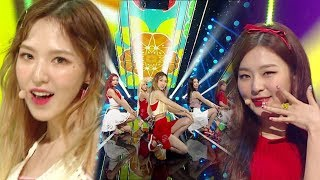 《EXCITING》 Red Velvet (레드벨벳) - Red Flavor (빨간 맛) @인기가요 Inkigayo 20170730