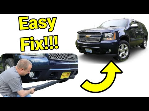 Chevy Suburban Front Air Dam Replacement Highlights