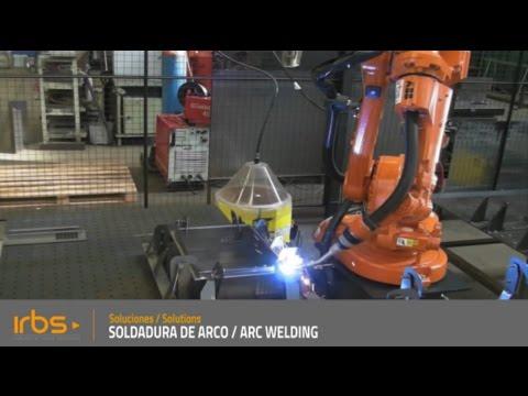 IRBS - Celda Robotizada de soldadura de arco