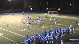Class of 2014 Adrien Mopoho JV RB/TB Highlights