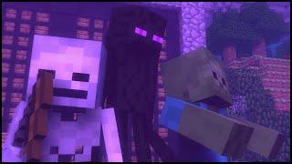 Animação Minecraft Mobs Estão Banidos | Mobs Are Banned Minecraft Animation