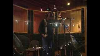 Johnny Hallyday recording Emilie Jolie