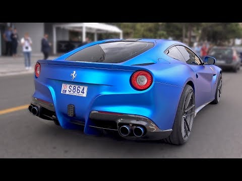INSANE LOUD FERRARI F12 w/ ARMYTRIX EXHAUST! REVS  ACCELERATIONS!