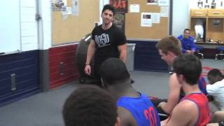 I AM A CHAMPION - Coach JC speaking to the Boys 5A basketball Team at Memorial HS