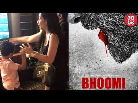 Maanayata Celebrates Her Birthday With Family,Sanjay Dutt's 'Bhoomi's 1st Look Released