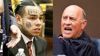6ix9ine's Judge Goes Off Gives Him 24 Months