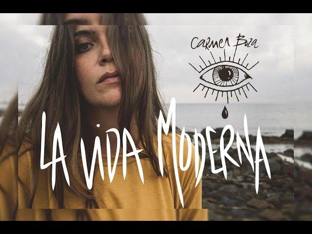 Video en directo ''La Vida Moderna'', de Carmen Boza.