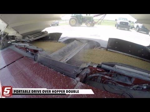 Ox Portable Drive Over Hopper Double