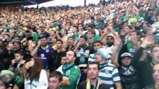 Nunca te vamos deixar Sporting!