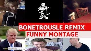 Undertale - Bonetrousle Remix - FUNNY MONTAGE
