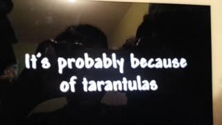 The funny tarantula song