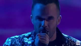 """Brian Justin Crum Singer Rules with """"Tears for Fears"""" Cover   America's Got Talent 2016"""