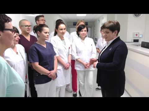 Beata Szydło podziękowała Zespołowi Medycznemu WIM
