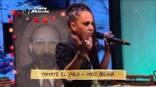 360 TV - [MUSICA] - #CintaAbierta - Tomate el Palo (Miss Bolivia)