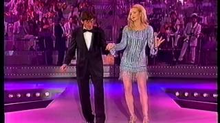 """Special #unadinoi : Lorella Cuccarini e Gianni Morandi cantano  """"Quando mi dici cosi"""""""