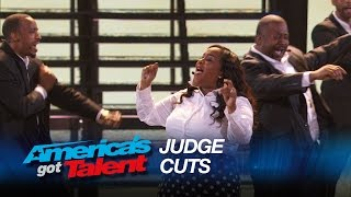 Selected of God Choir: Judges Give Standing Ovation for Destiny's Child Cover - America's Got Talent