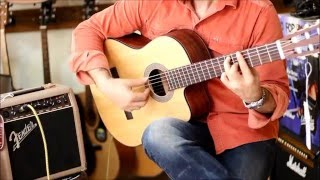 Cort AC120CE Elektro Klasik Gitar