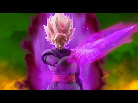 THE BEST DRAGON BALL FIGURE OF ALL TIME! Super Saiyan Rose Goku Black by Figuarts
