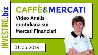 Caffè&Mercati - EURUSD, GBPUSD, S&P500